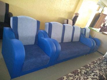 Диван и 2 кресло новый, в Бишкек