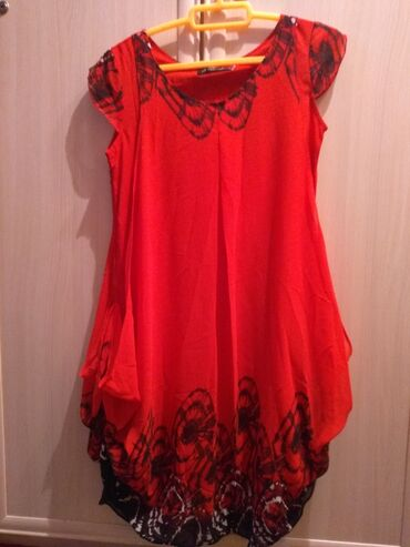 женское платье размер м в Кыргызстан: Новая женская платья, шифон, размер с-м
