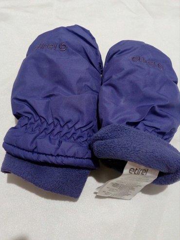 Zimske rukavice, postavljene marke etirel, vel. 4. Kupljene u inter - Beograd