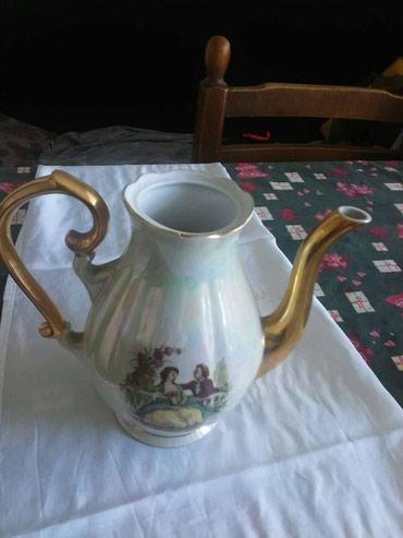 Cajnik keramika zajecar neostecen bez poklopca
