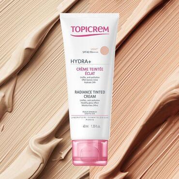 Topicrem Hydra + Radiance Tinted Cream SPF 40 40ml - это тонированный