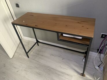 produkcii ikea в Кыргызстан: Стол IKEA - ФЬЕЛЛЬБО Стол д/ноутбука, черный100x36 см