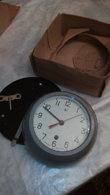 Антикварные часы в Азербайджан: Механические часы, морские, новые. Сделано в СССР.Mexanik saat