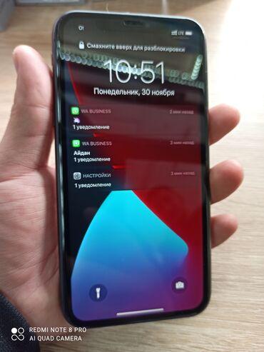 айфон 11 цена в бишкеке в Кыргызстан: Айфон 11 128гб новый пользовался месяц батарейка 100% состояние идеал