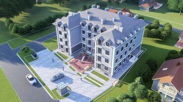 квартира в рассрочку без первоначального взноса in Кыргызстан   XIAOMI: Строится, Элитка, 1 комната, 33 кв. м