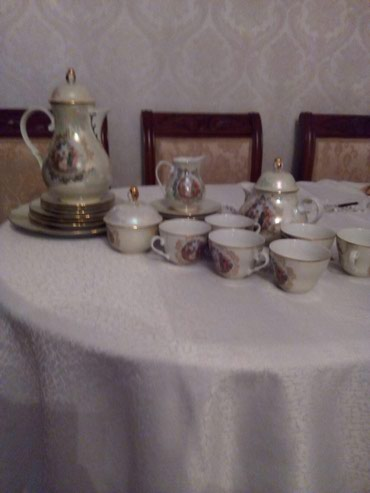 Bakı şəhərində Çay dəsti