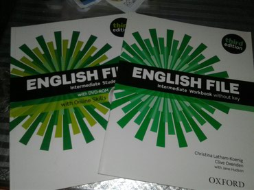 New English file Intermediate вместе с workbook и диском в Бишкек