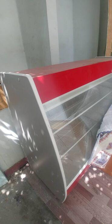 Электроника - Сузак: Б/у Холодильник-витрина | Красный холодильник