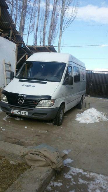 Mercedes-benz 313 CDI2'2 свежий 7500$ или меняю на участок в Бишкеке в Семеновка