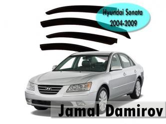 Bakı şəhərində Hyundai sonata 2004-2009 üçün vetroviklər. Korea istehsalı. Ветровики