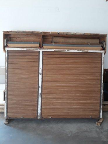 Prozor drveni trokrilni sa roletnom - Smederevo