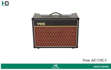 """Bakı şəhərində """"Vox AC15C1"""" elektro gitar üçün anfi"""
