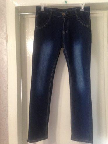 Продаю новые женские джинсы размер 46-48 Цена 500 сом.Цвет тёмно-синие в Бишкек