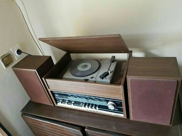 "Radio s gramofonom TRENTA-""ISKRA"" Sežana-Slovenija,ispravan,star - Belgrade"