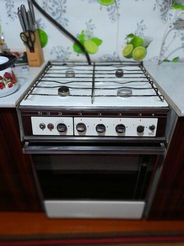Электроника - Новопавловка: Продаётся газовая плита б/у 4000сом. Реальным клиентам уступлю