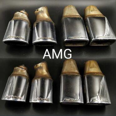 Мерседес насадки глушителя AMG LORINSER W124 W126 W140 W201 W202 W210