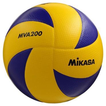 Мячи - Бишкек: Волейбольный мяч Mikasa MVA200
