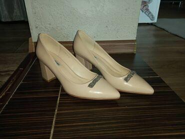 Личные вещи - Кант: Продаю обувь женскую в отличном состоянии. Бежевые лодочки 40 размера