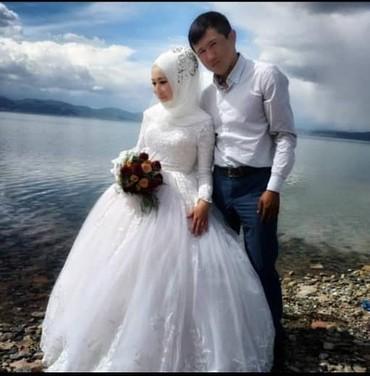 Свадебное платье на прокат. пышное платье в комплекте фата и кольцо