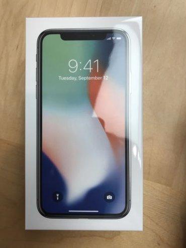 Apple iPhone x завод разблокирован черный и космос, серый, серый и в Кара-Ой