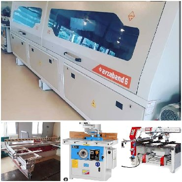 Xoncalarin satisi - Azərbaycan: PVC, Yatar,Minifiks,Frez makinalari nağd ve lizinqle satişi bir il qar