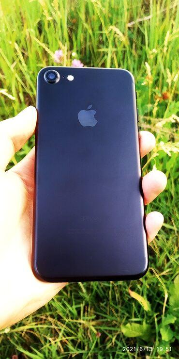Электроника - Дмитриевка: IPhone 7 | 32 ГБ | Черный Б/У | Гарантия, Отпечаток пальца, Face ID