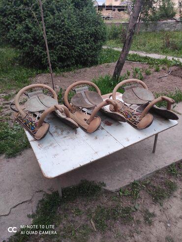 Другие животные - Кыргызстан: Седла для кок бору прочные, хорошо сидит