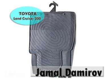 Bakı şəhərində Toyota land cruiser 200 baqaj üçün rezin ayaqalti. Багажный
