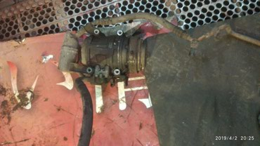 Продаю компрессор кондиционера на Мерседес 124 привозной в Бишкек