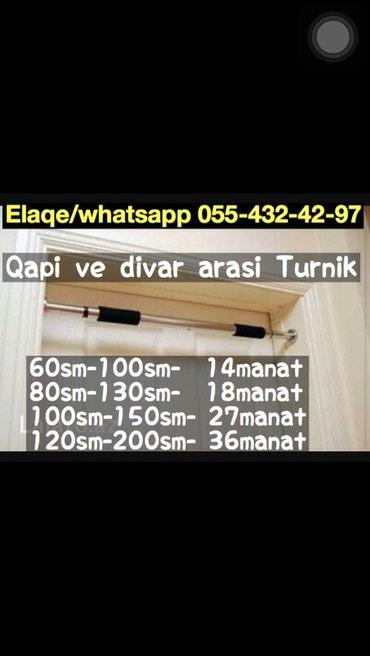 Bakı şəhərində Qapi ve Divar arasi turnik.metrolara catdirilma pulsuz