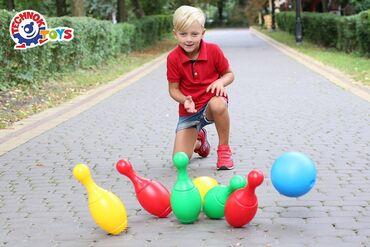 """oyuncaq mktb avtobuslari - Azərbaycan: Oyuncaq Bowling   Bowling oyunu uşaqlara """"bir birlərinə zərər vurmadan"""