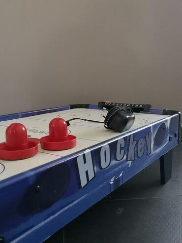 Air Hockey με καλώδιο σε πολύ καλή κατάσταση 82χ42cm