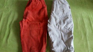 2 para pantalona za dečake vel.2-3god(polovne,bez ostecenja),tople i - Petrovac na Mlavi