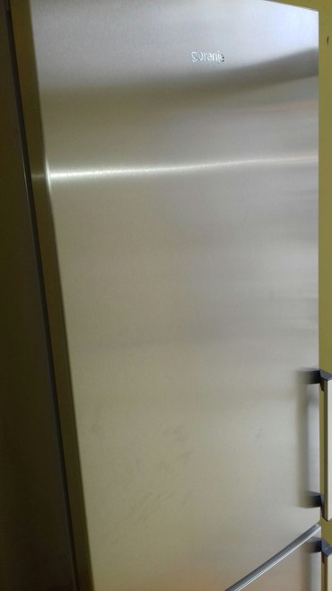 Frižideri | Smederevo: Upotrebljen Dvokomorna siva refrigerator
