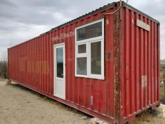 konteyner 40 tonluq - Azərbaycan: 12m×2.40 konteyner anbar ofis satılır. yaxşı vəziyyətdədir