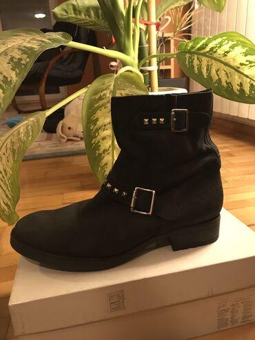 Crne cizme Bata veličina 41