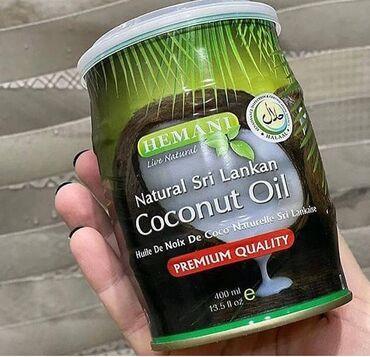- Azərbaycan: Hemani 400ml 100% orginal Cocos yağı- bütün dünyada istifadə olunan mə