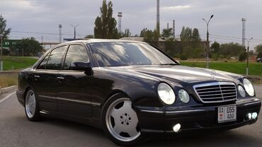 черный mercedes benz в Кыргызстан: Mercedes-Benz E 55 5.5 л. 2000
