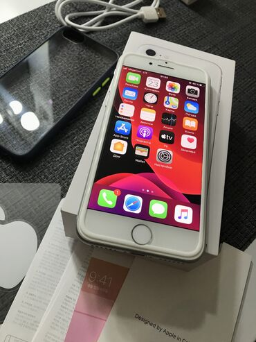 apple iphone 4 32gb в Кыргызстан: Новый iPhone 8 64 ГБ Белый
