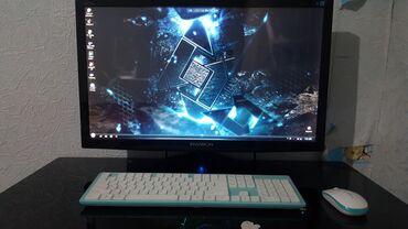Продаю хороший игровой компьютер с большим монитором (размер 32 дюйм)