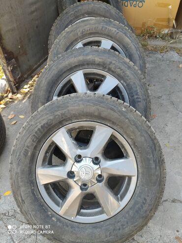 шредеры 90 универсальные в Кыргызстан: Срочно продаю диски с зимней резиной, ездили 1сезон, шипованная