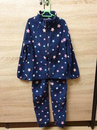 Флисовый костюм на 6-8 лет