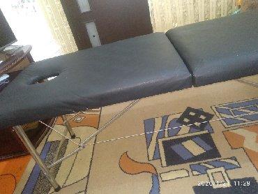 складную массажную кушетку в Кыргызстан: Продаю кушетку-чемодан  5000