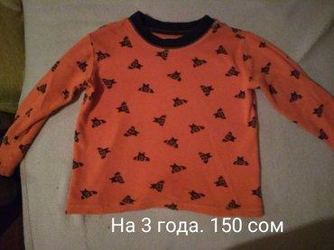 На мальчика 3 года. б/у. 1)футболки на 3 в Бишкек