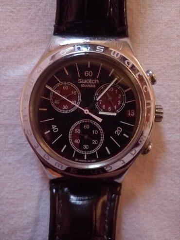 Na prodaju sat swatch irony,kupljen u svajcarskoj. Sat je u odlicnom - Krusevac