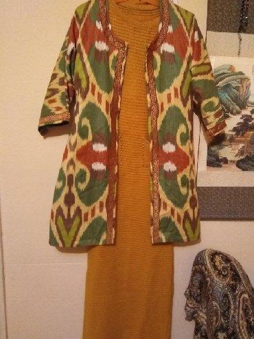 Женская одежда - Милянфан: Двойка. Можно по отдельности. Новое. Платье турецкий трикотаж. Размер