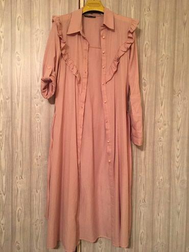 туника 42 размера в Кыргызстан: Туника платье в идеальном состоянии, турция. Размер 42-44
