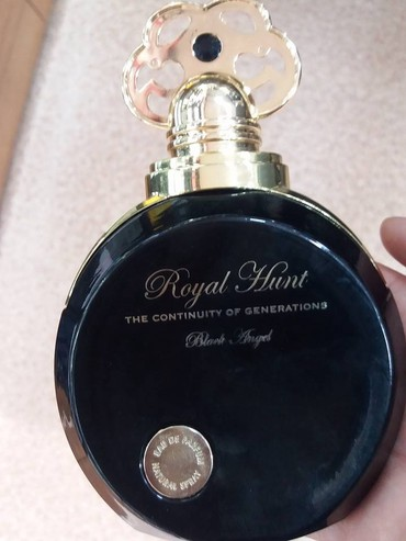 Bakı şəhərində Royal Hunt Black Angel və Royal Hunt Sapphire Eau De Parfum. Made in