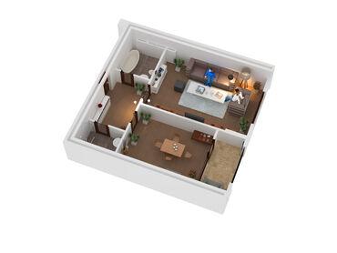Продается квартира: Элитка, Кок-Жар, 1 комната, 38 кв. м
