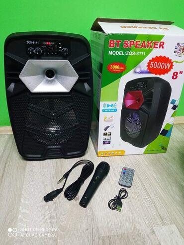 Muska odela - Srbija: Blutut Zvucnik Karaoke ZQS-8111 sa mikrofonom i daljinskimSamo 4000